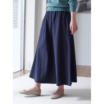 【6,000円(税込)以上のお買物で全国送料無料。】裏毛ロングマキシスカート