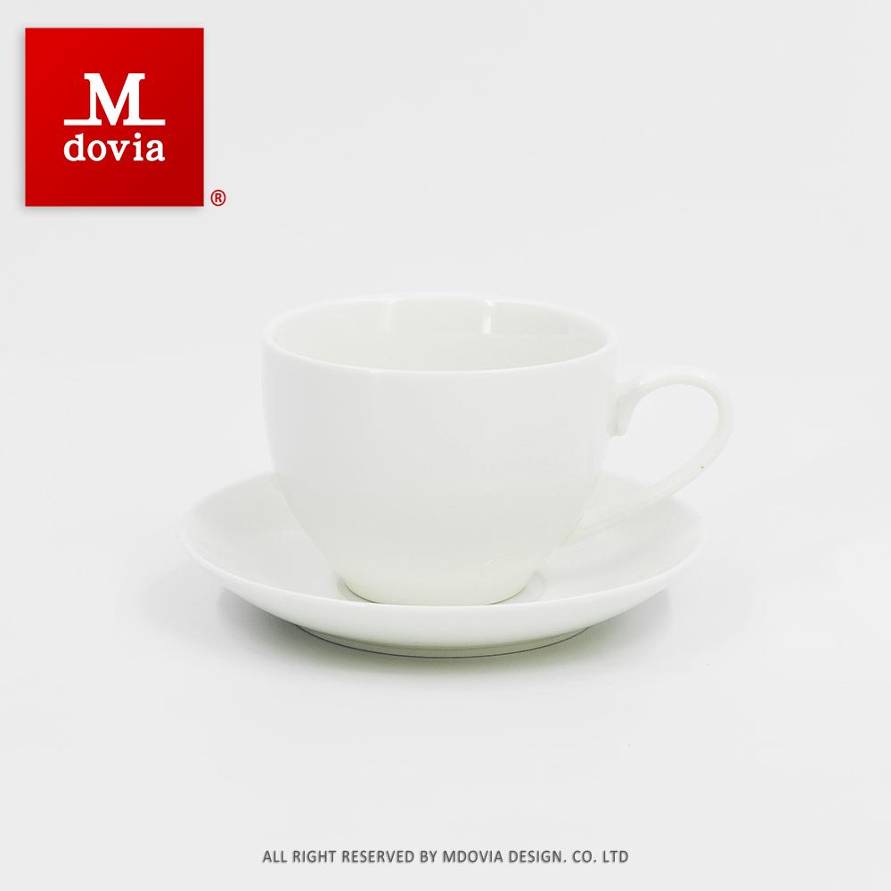 【Mdovia】拿鐵咖啡杯(骨瓷白)