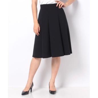 MISS J/ミス ジェイ シルキーストレッチ スカート ネイビー 40