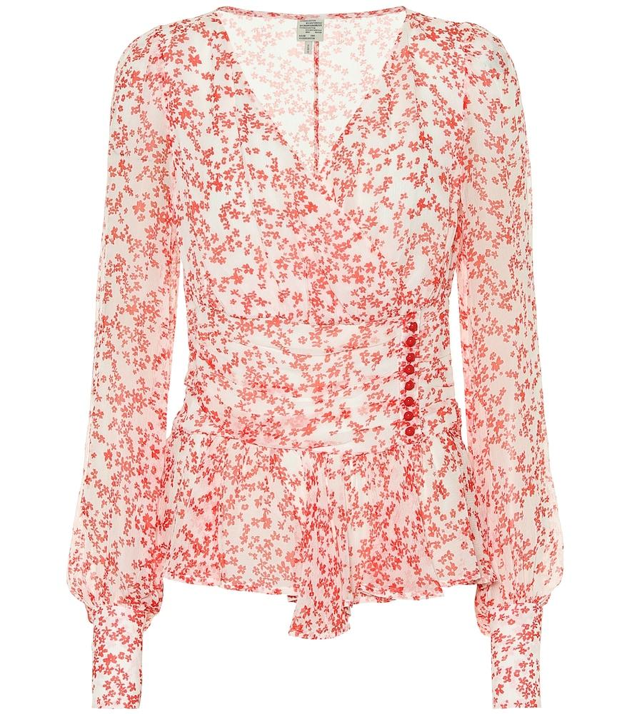 Matinez floral blouse