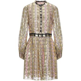 《セール開催中》TEMPERLEY LONDON レディース ミニワンピース&ドレス オークル 8 レーヨン 45% / シルク 31% / 金属 24%
