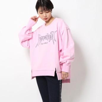 アールエヌエー RNA ウラ毛リメイク風トレーナー (ピンク)