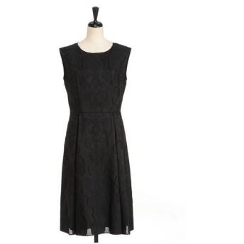 LESTERA / オーナメントジャガードドレス