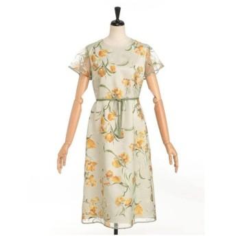 LESTERA / オパールプリントドレス