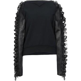 《セール開催中》DSQUARED2 レディース スウェットシャツ ブラック XS コットン 100% / ポリウレタン