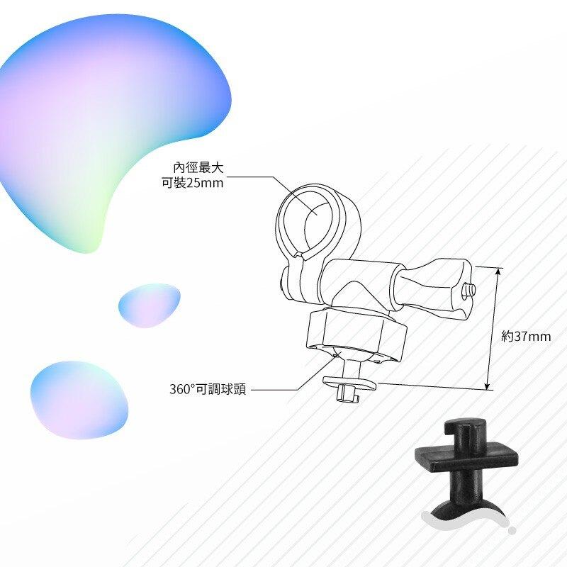 E01【短軸 柱型】後視鏡扣環支架 聲寶 MDR-S20C / MDR-SE12W|BuBu車用品