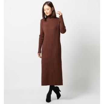 【ミューズ リファインド クローズ/MEW'S REFINED CLOTHES】 リブロングワンピース