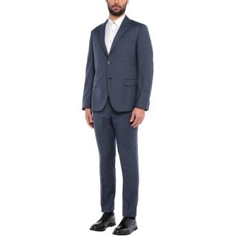 《セール開催中》BRERAS Milano メンズ スーツ ダークブルー 56 バージンウール 100%