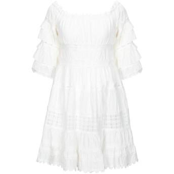 《セール開催中》SWEET SECRETS レディース ミニワンピース&ドレス ホワイト 40 コットン 100%