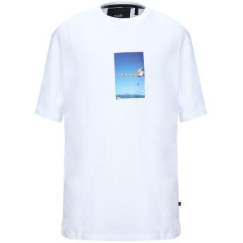《セール開催中》BLOOD BROTHER メンズ T シャツ ホワイト S コットン 100%
