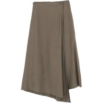 《セール開催中》COLOUR 5 POWER レディース 7分丈スカート ミリタリーグリーン S 指定外繊維(テンセル) 100%