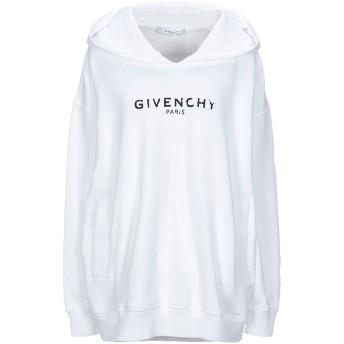 《セール開催中》GIVENCHY レディース スウェットシャツ ホワイト XS コットン 100% / ポリウレタン