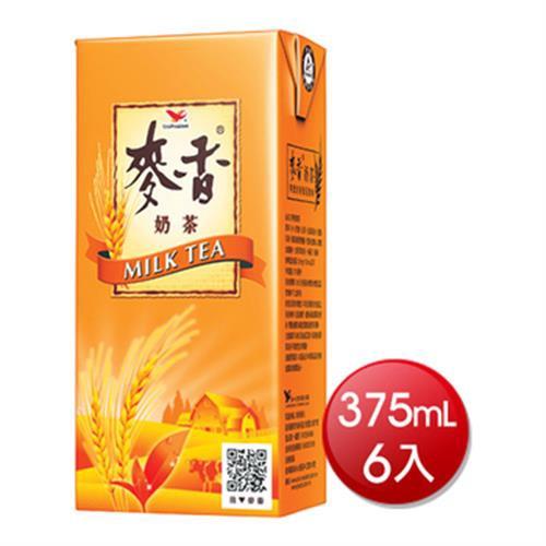 統一 麥香奶茶(375mlX6入)[大買家]