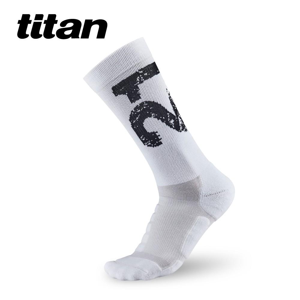 太肯運動 21K馬拉松功能慢跑襪|數字長襪 中筒運動襪 長襪 厚底運動襪 厚襪 機能襪|分散足底壓力|獨家專利 MIT