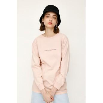 スライ MELLOW L/S Tシャツ レディース L/PNK1 FREE 【SLY】
