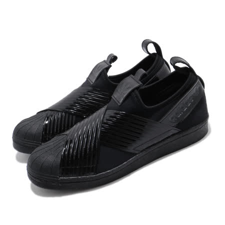 adidas 愛迪達 休閒鞋 Superstar Slip On 女鞋 BD8055