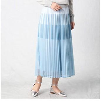 【COMME CA ISM:スカート】【大人気 ゴムスカート】 プリーツスカート