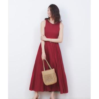 Rouge vif la cle/ルージュ・ヴィフ ラクレ 【MARIHA】別注 夏のレディのドレス レッド 36