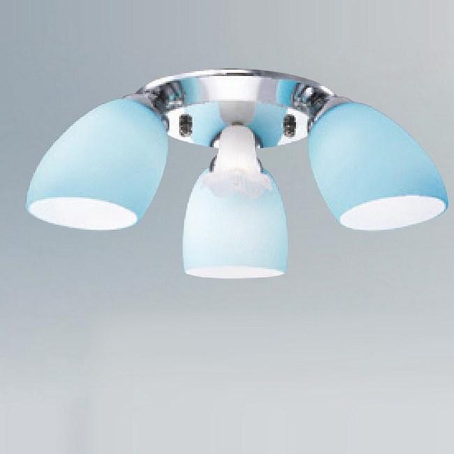 大巨光 台製馬卡龍半吸頂燈 中 LW-09-2375