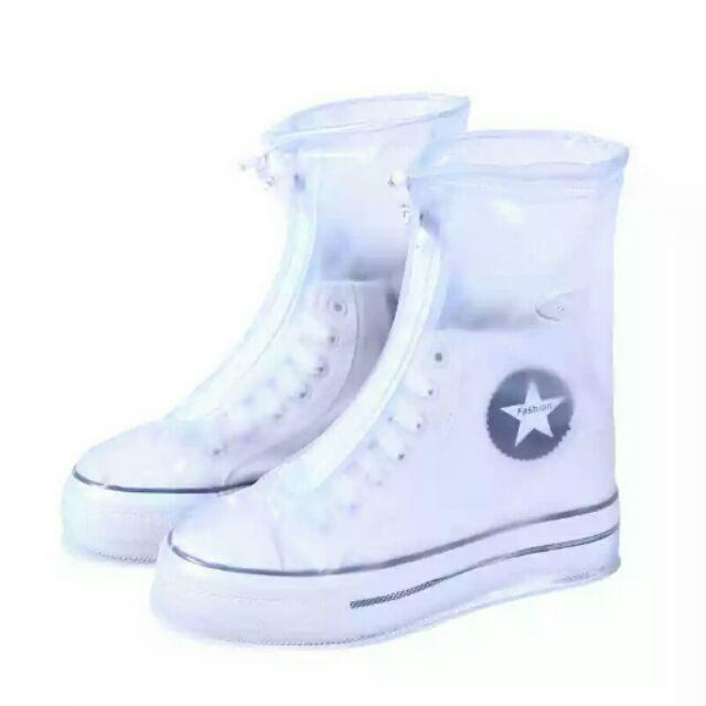 預購雨天防水鞋套中筒16cm