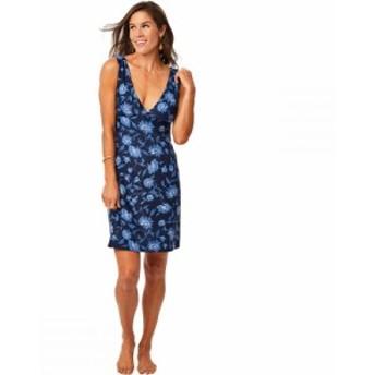 カーヴデザイン Carve Designs レディース ワンピース ワンピース・ドレス Cayman Dress Navy Haku