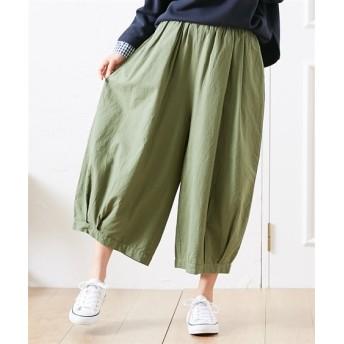 【20春夏】綿麻 バルーンパンツ (レディースパンツ)Pants