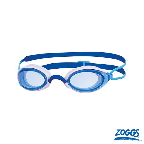 ZOGGS 成人Air氣墊廣角國際認可鐵人泳鏡-天藍
