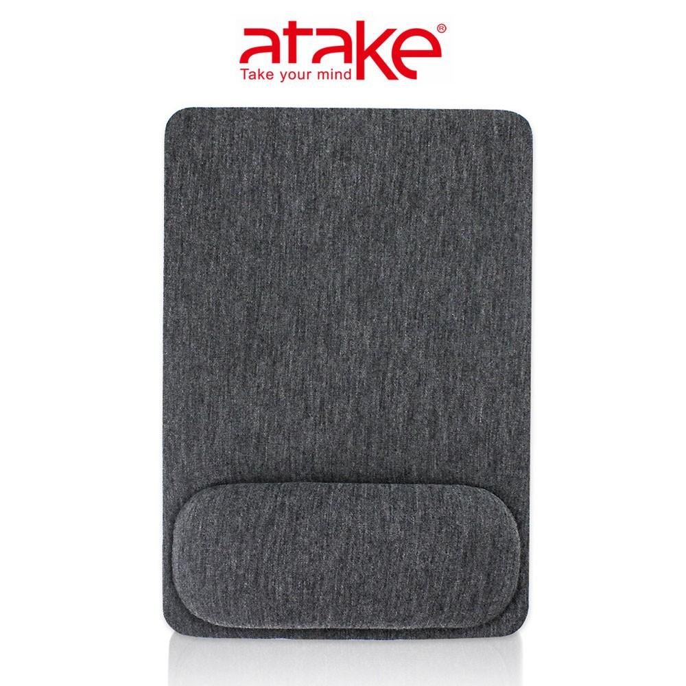 ATake 緩壓滑鼠墊深灰 鼠標墊 電競電腦繪圖 辦公室護腕滑鼠墊 紓壓墊 SMP-200