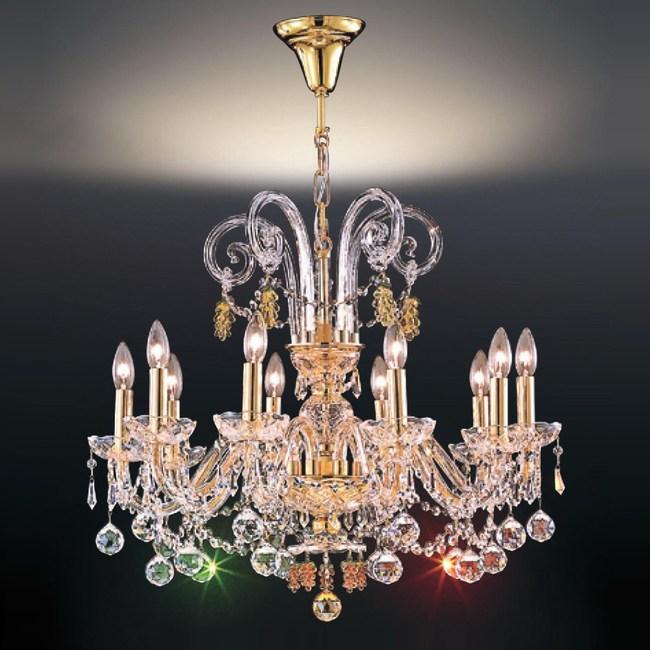 大巨光 台製華麗風水晶燈 吊燈 中 LW-09-0355