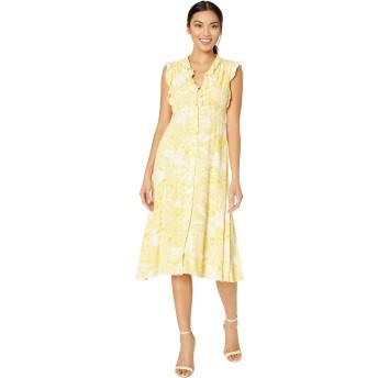 [テイラー] レディース ワンピース Floral Print Rayon Crepe Shirtdress [並行輸入品]