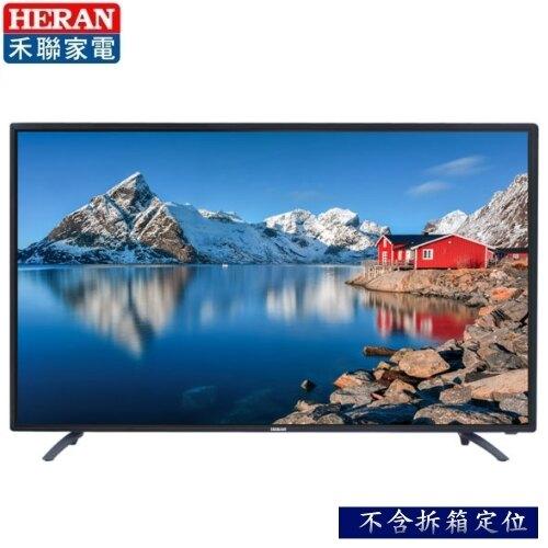 禾聯HERAN  43吋 9H強化玻璃 液晶顯示器+視訊盒 HD-43GA2