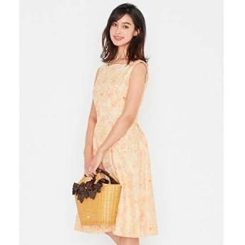 トッカ(TOCCA) 【洗える!】PERFECTION CAMELLIA ドレス【イエロー系7/2】