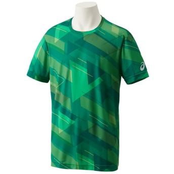 ASICS アシックス JP グラフィックショートスリーブトップ メンズアパレル Tシャツ・ポロシャツ ケール 2XL
