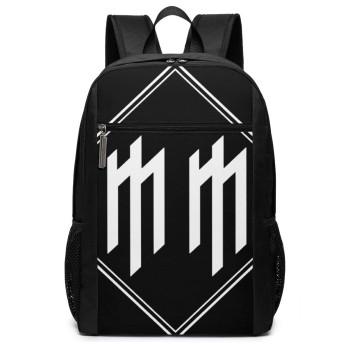 マリリン・マンソン Marilyn Manson バックパック リュック 男女兼用 大容量 多機能 リュックサック 旅行 通勤 通学 PC収納 高耐久性