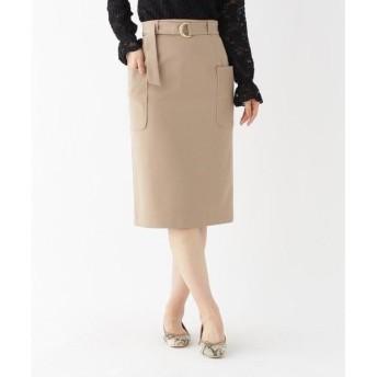 AG by aquagirl / エージー バイ アクアガール 【洗える/Lサイズあり】サイドポケットベルト付きスカート