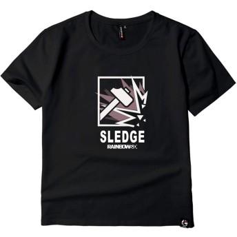 Rainbow Six Siege レインボーシックス シージ PS4 メンズ/レディース Tシャツ/夏服 半袖 Tシャ