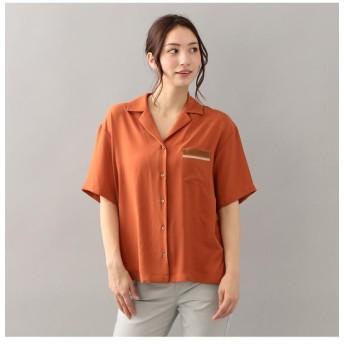 【ラブレス/LOVELESS】 【LOVELESS】WOMENS オーバーサイズオープンカラーシャツ