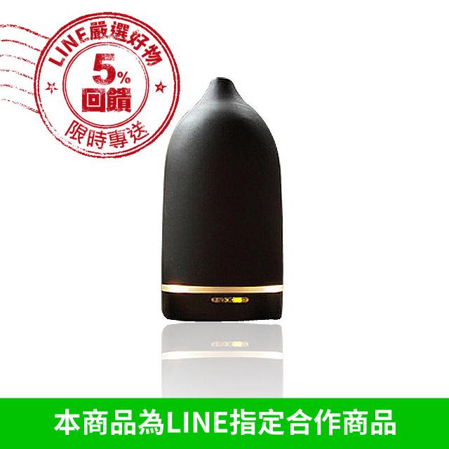 L'ERBOLARIO 蕾莉歐 TOAST 香氛精靈水氧機 - 黑色美禪型(LT09333-1)【美麗購】