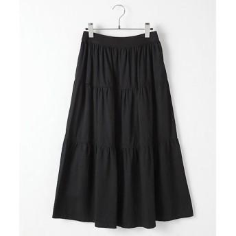 TABASA / タバサ コットンティアードスカート