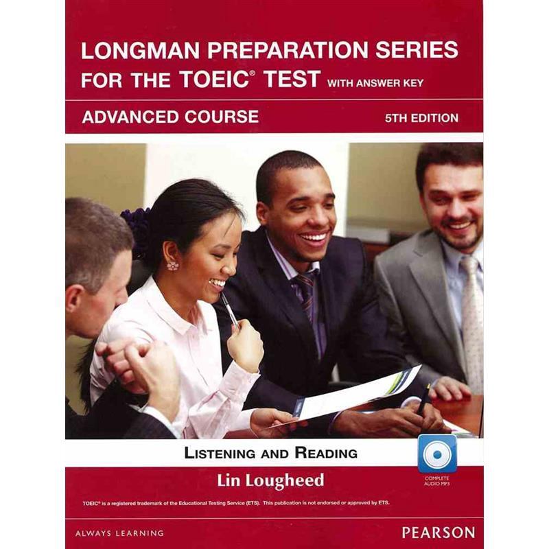 LongmanPreparationSeriesfortheTOEICTest:Adv