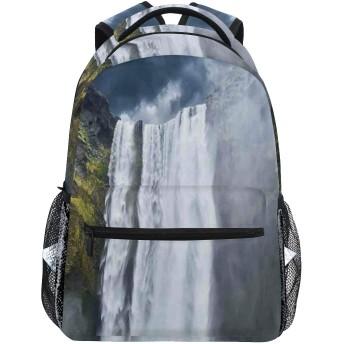 GUKISALA リュックサック、風景アメリカの崖のシーンプリント、バックパック 男女兼用 アウトドア旅行バッグ オシャレ 可愛い 通勤 通学用 軽量 高校生
