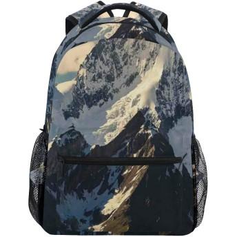 GUKISALA リュックサック、面白いオウム水彩イラスト熱帯の自然、バックパック 男女兼用 アウトドア旅行バッグ オシャレ 可愛い 通勤 通学用 軽量 高校生