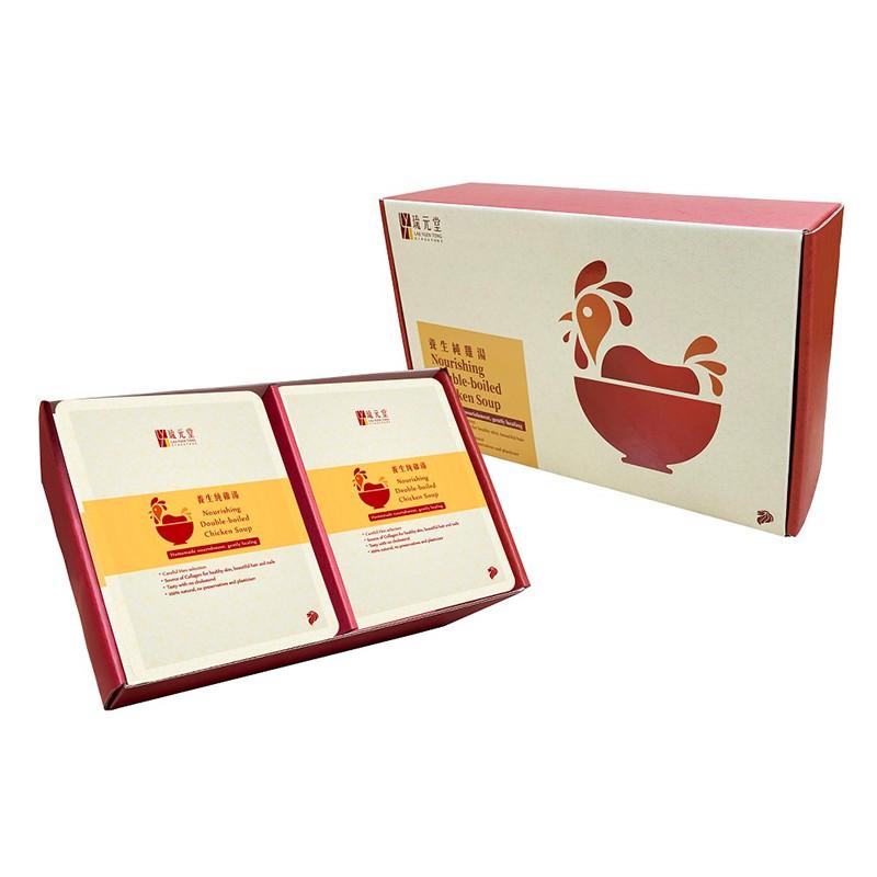 新加坡琉元堂-養生純雞湯12入禮盒150g(冷凍) 可愛婦嬰