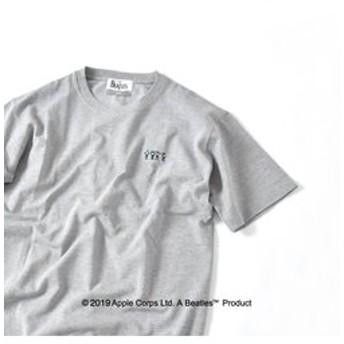 【SHIPS:トップス】SU: BEATLES 鹿の子 クルーネック Tシャツ