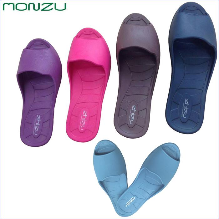 海夫健康生活館 monzu 滿足零著感魚口室內拖鞋
