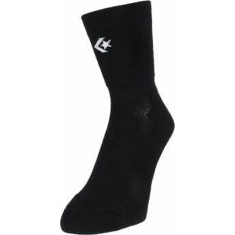 コンバース バスケット クッションソックス 20SS ブラック/ホワイト ソックス(cb101053-1911)