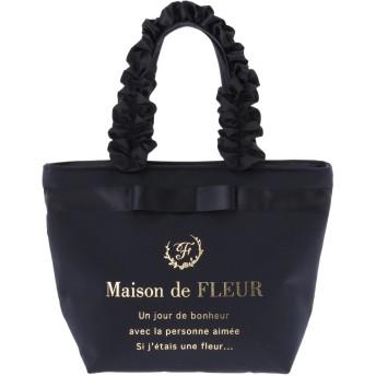 【6,000円(税込)以上のお買物で全国送料無料。】ブランドロゴフリルハンドルトートSバッグ