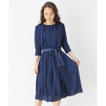 grove(グローブ) ギャザードレープドレス