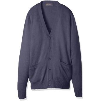 [キューポップ] ウォッシャブルニットカーディガン(スクール・制服・学生服) TB-755 ガールズ スモークブルー 日本 M (日本サイズM相当)