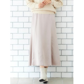 le. coeur blanc ビンテージサテンマーメイドスカート(ピンク)